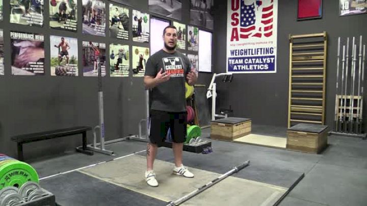 Greg Everett: Accurately & Actively Pulling Under The Bar