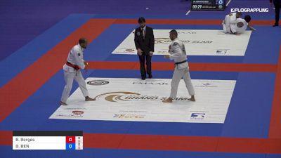 Bruno Borges vs DAVID BEN ZAKEN 2019 Abu Dhabi Grand Slam London