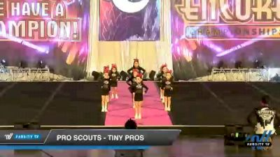 Pro Scouts - Tiny Pros [2020 L1 Tiny - Novice - Restrictions Day 1] 2020 Encore Championships: Houston DI & DII
