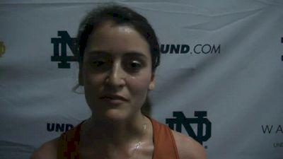 Sandie Raines of UT takes the 3k with huge PB