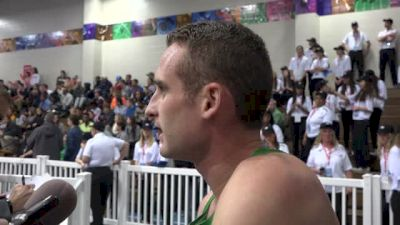 Pat Casey disappointed with performance, looking forward to Millrose
