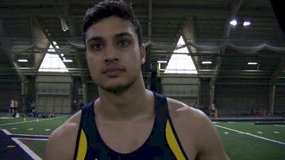 Ali Arastu back for fifth year, first collegiate in 400m
