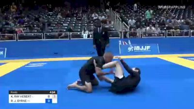 KEVIN RAY HEBERT vs RICHARD J. BYRNE 2021 World IBJJF Jiu-Jitsu No-Gi Championship