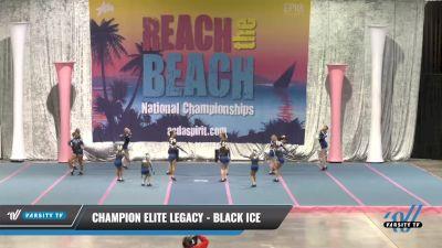 Champion Elite Legacy - Black Ice [2021 L2 Youth] 2021 Reach the Beach Daytona National