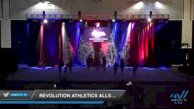 Revolution Athletics Allstars - R3IGN [2021 L3 Junior - D2 - Small Day 2] 2021 The American Royale DI & DII