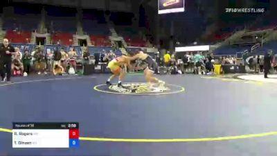195 lbs Round Of 16 - Rylan Rogers, Washington vs Thomas Dineen, Minnesota