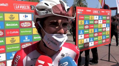 Guillaume Martin: 'If You Never Try, You Never Know' Stage 7 - 2021 Vuelta A España
