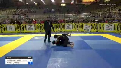 MICHAEL TURNER ISHAM vs FRANCISCO VON LITTON 2021 Pan Kids Jiu-Jitsu IBJJF Championship
