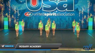 Rosary Academy [2020 Medium Varsity Jazz (8-11) Day 3] 2020 USA Spirit Nationals