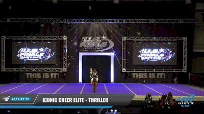 Iconic Cheer Elite - Thriller [2021 L2.1 Junior - PREP Day 1] 2021 The U.S. Finals: Ocean City