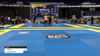 JOHNNY TAMA vs YGOR RODRIGUES 2019 World IBJJF Jiu-Jitsu No-Gi Championship