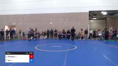 57 kg Rr Rnd 1 - Jennifer Soto, Ca vs Claire DiCugno, Wa