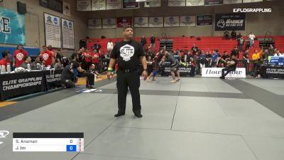 S Ansman vs J Im 2019 Elite Grappling Championships 3