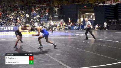 141 lbs Prelims - Trent Dooley, Ark-Little Rock vs Lenny Petersen, Air Force