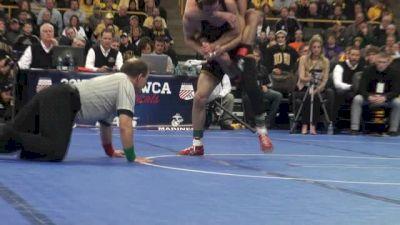 125lbs Finals Alan Waters (Missouri) vs. Thomas Gilman (Iowa)
