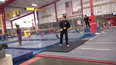 Workout Insider: Buckeye Gymnastics | Tumbling Take Off, Body Shaping With The Elites