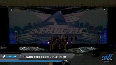 Stars Athletics - Platinum [2021 L2 Junior - D2 - Small Day 1] 2021 Athletic Championships: Chattanooga DI & DII