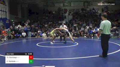 152 lbs Final - Sonny Santiago, St John Bosco vs Chase Saldate, Gilroy