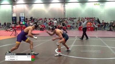 133 lbs Round of 32 - Jack Mueller, Virginia vs Jack Wagner, University Of Northern Iowa