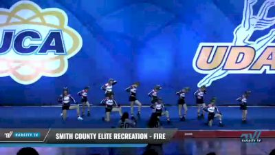 Smith County Elite Recreation - Fire [2020 L2 Performance Recreation - 12Y (NON) Day 1] 2020 UCA Smoky Mountain Championship