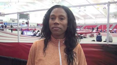 Texas Coach Tonja Bailey before NCAAs