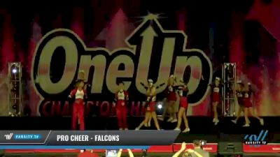 Pro Cheer - Falcons [2021 L4 - U17 Coed Day 2] 2021 One Up National Championship