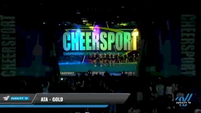 ATA - Gold [2021 L2 Youth - Small - A Day 2] 2021 CHEERSPORT National Cheerleading Championship