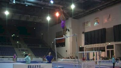 Simone Biles Bars Set, Day 1 Training - Jesolo 2015