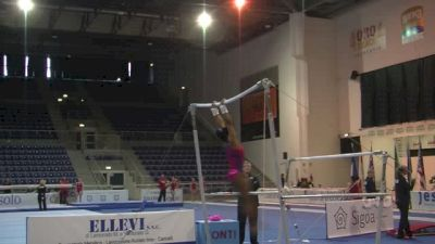 Simone Biles Bar Set, Day 2 Training - Jesolo 2015
