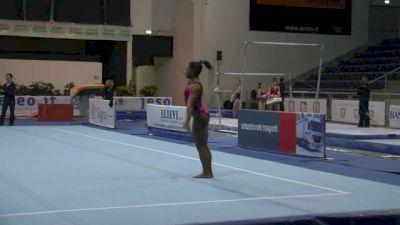 Simone Biles 2 Pass Floor Routine, Day 2 Training - Jesolo 2015