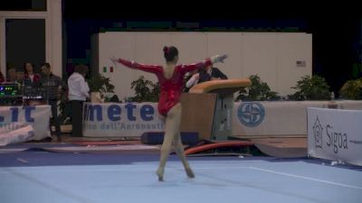 Canada, Rose-Kaying Woo, 13.6 FX, Junior Qualifications - Jesolo 2015