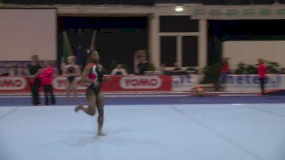 Simone Biles Amazing On Floor, Day 4 Training - Jesolo 2015