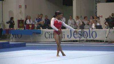 USA, Simone Biles, 15.95 Floor Routine, Team/AA Finals - Jesolo 2015