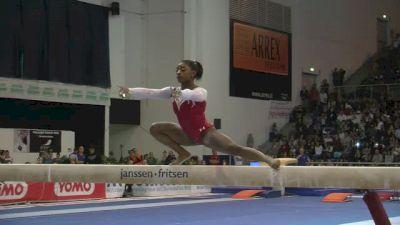 USA, Simone Biles, 15.15 BB, Team/AA Finals - Jesolo 2015