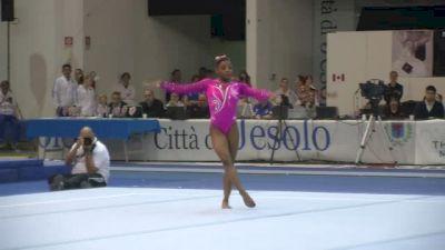 USA, Simone Biles, 16.05 FX, Event Finals - Jesolo 2015