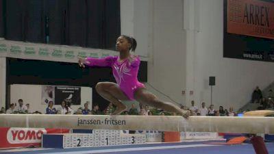 USA, Simone Biles, 15.25 BB, Event Finals - Jesolo 2015