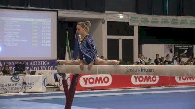 Italy, Michela Redemagni, 13.2 BB, Event Finals - Jesolo 2015