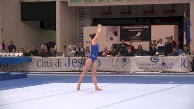 Canada, Jade Chrobok, 13.9 FX, Event Finals - Jesolo 2015