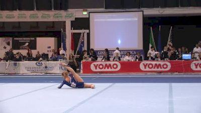 Italy, Michela Redemagni, 13.45 FX, Event Finals - Jesolo 2015