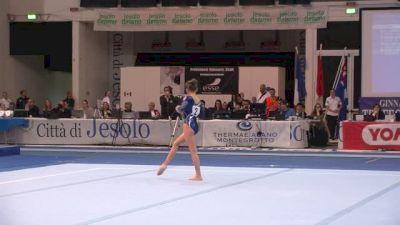 Italy, Clara Colombo, 13.50 FX, Event Finals - Jesolo 2015