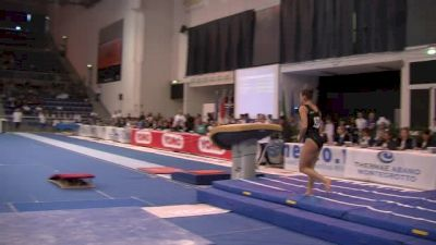 Canada, Helody Cyrenne, 13.575 VT, Event Finals - Jesolo 2015