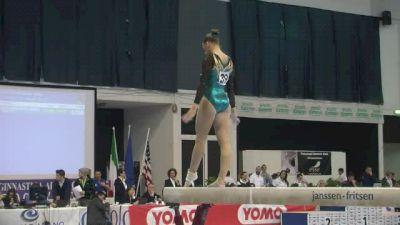 Australia, Emma Nedov, 14.1 BB, Event Finals - Jesolo 2015
