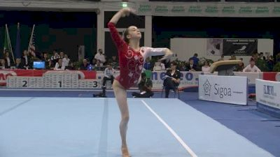 Canada, Isabela Onyshko, 14.15 FX, Event Finals - Jesolo 2015