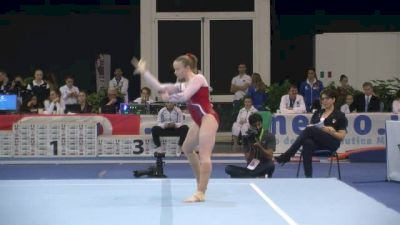 France, Camille Bahl, 12.75 FX, Event Finals - Jesolo 2015
