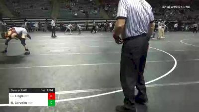 141 lbs Consolation - Jackson Lingle, Triton vs Blake Gonzalez, Northeastern Oklahoma
