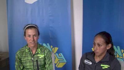 Desi Linden and Amy Cragg ASU roommates, marathon competitors