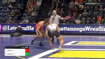 157 lbs Semifinal - Hayden Hidlay, NC State vs Wyatt Sheets, Oklahoma State