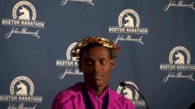 """Lelisa Desisa wins 2nd Boston title, """"This medal is for me"""""""