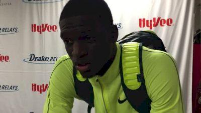 Kirani James crushes Drake Relays 400m, 44.22