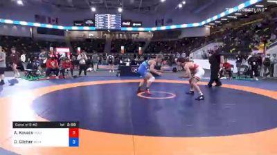 74 kg Consolation - Aj Kovacs, Wolfpack Wrestling Club vs Derek Gilcher, Michigan